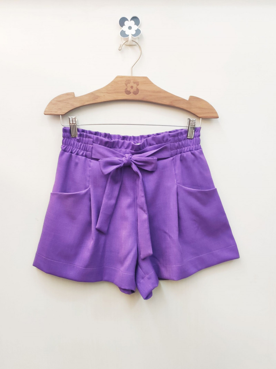 SHORT VISCOLINHO CLOCHARD